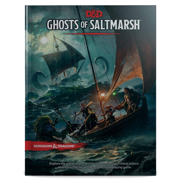 DUNGEONS AND DRAGONS GHOSTS OF SALTMARSH PRE ORDER 21/05/19