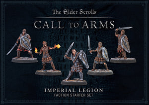 ELDER SCROLLS CALL TO ARMS IMPERIAL LEGION FACTION STARTER SET SKYRIM PRE ORDER MARCH 2020