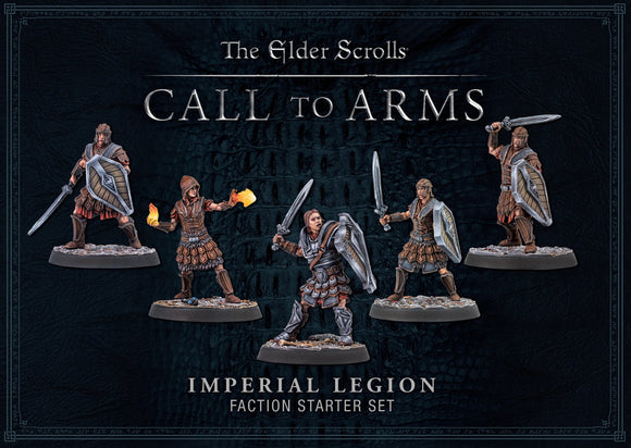 ELDER SCROLLS CALL TO ARMS IMPERIAL LEGION FACTION STARTER SET SKYRIM