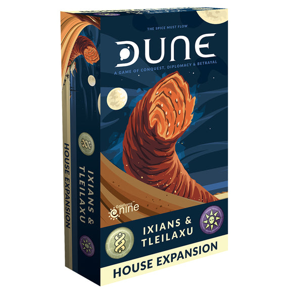 DUNE BOARD GAME IXIANS AND TLEILAXU HOUSE EXPANSION