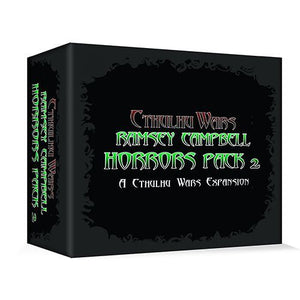 CTHULHU WARS (REPRINT) RAMSEY CAMPBELL HORRORS PACK TWO EXPANSION PRE ORDER Q1 2021