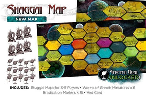 CTHULHU WARS (REPRINT) SHAGGAI MAP EXPANSION PRE ORDER Q1 2021