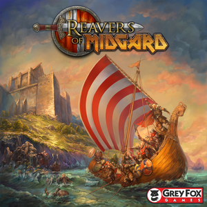 REAVERS OF MIDGARD BOARD GAME