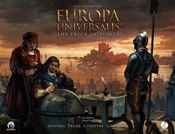 EUROPA UNIVERSALIS THE PRICE OF POWER BOARD GAME PRE ORDER Q1 2021