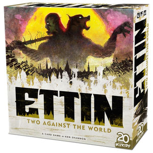 ETTIN TWO AGAINST THE WORLD BOARD GAME