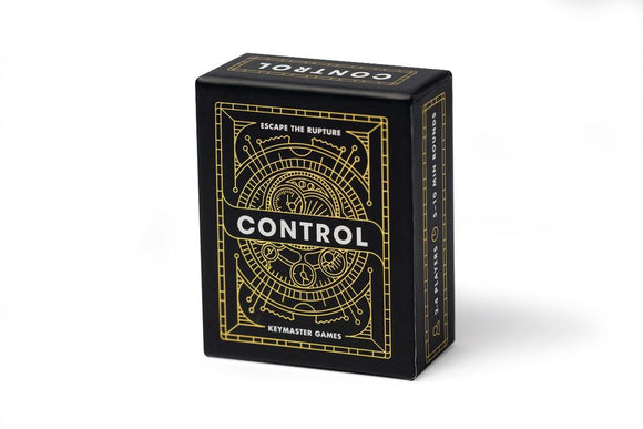CONTROL SECOND EDITION CARD GAME
