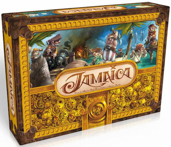 JAMAICA BOARD GAME