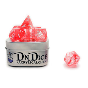 DNDICE AETHER STORM RUBY AETHER DICE SET