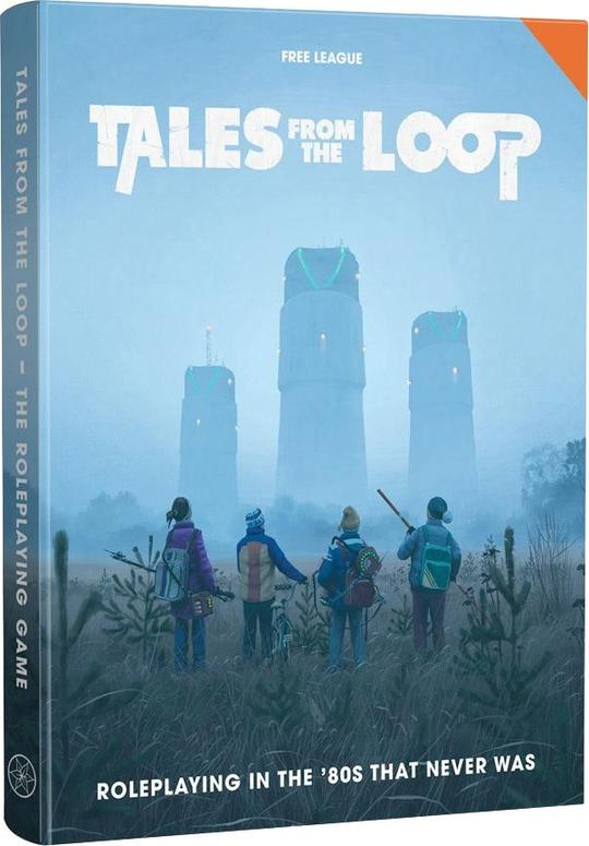 TALES FROM THE LOOP RPG CORE RULEBOOK
