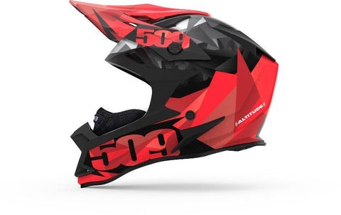 Casque Altitude Red triangle
