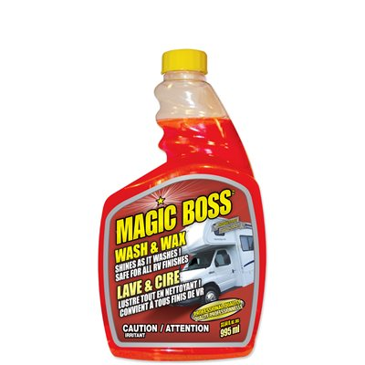 Lave et cire Magic Boss