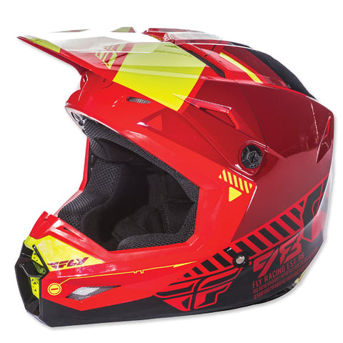 Casque Fly Elite Onset rouge