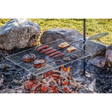 Stake and grill - Gril pour feu de bois