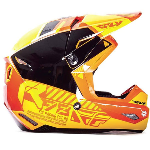 Casque Fly Kinetic Onset orange