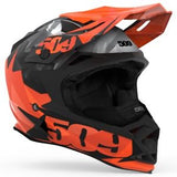 Casque Altitude Orange triangles