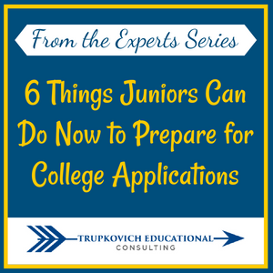 Six Things Juniors Can Do Now to Prepare for College Applications