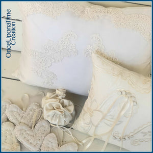 Keepsakes made from a Wedding Dress