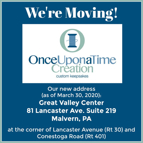 Once Upon a Time Creation is Moving!
