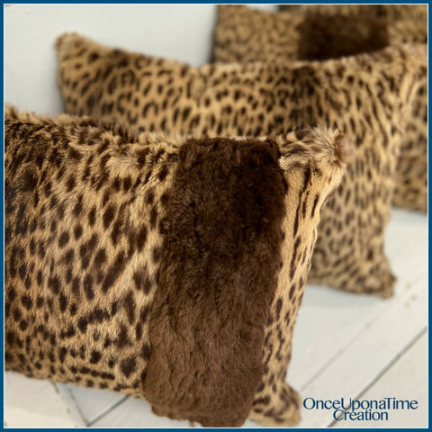 Keepsake Pillow made from a fur coat by Once Upon a Time Creation