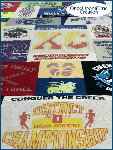 Memory Blanket from Cross Country T-shirts by Once Upon a Time Creation