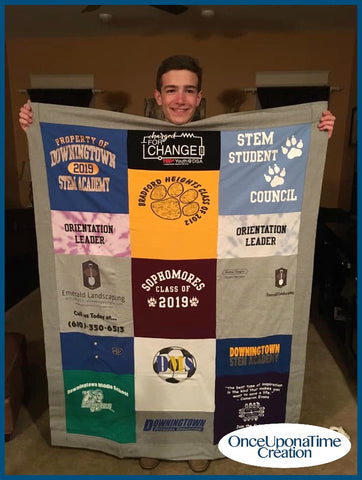 Once Upon a Time Creation Graduation Memory Blanket