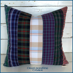 Remembrance Pillow made from clothing by Once Upon a Time Creation
