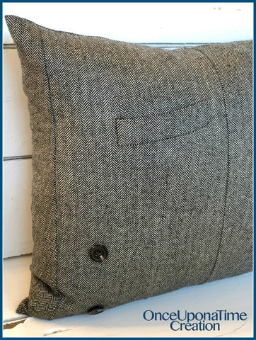 Suit Coat Memory Pillows by Once Upon a Time Creation