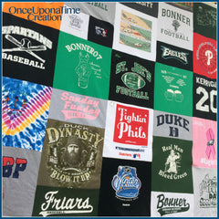 T-shirt Blanket by Once Upon a Time Creation