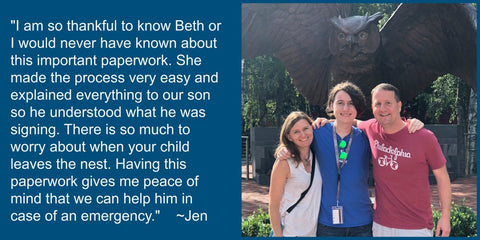 Testimonial for Beth Rondinelli Law Office