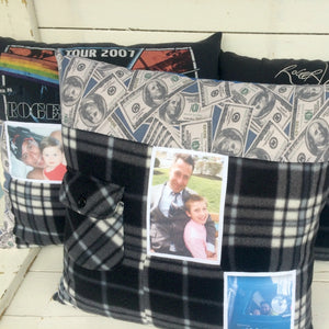 Remembrance Keepsake Pillow (Signature)