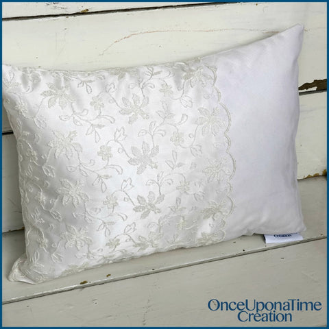 Wedding Dress Pillow by Once Upon a Time Creation