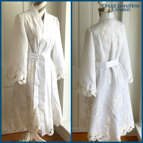 Wedding Dress Robe