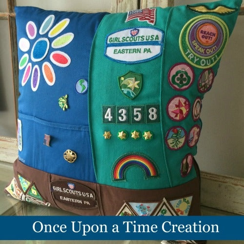 Scout Keepsake Pillow