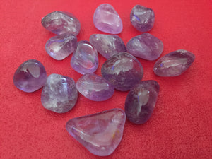 Amethyst Tumbled Stone Set