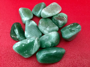 Green Aventurine Tumbled Stone Set