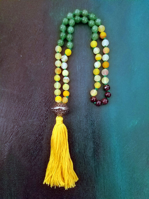 OSHUN Prayer Beads