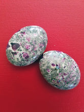 Ruby in Rhyolite Palmstone