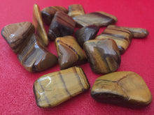 Tiger's Eye Tumbled Stone Set