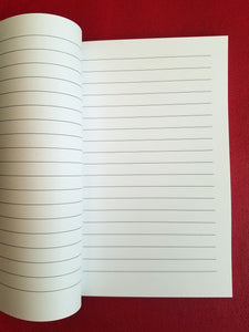Afro Song Lined Journal