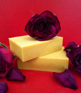 Turmeric Honey Rose Bar Soap