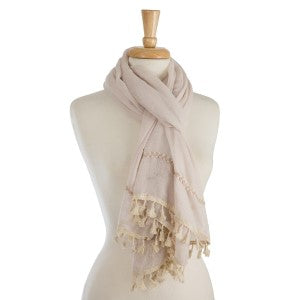 Lightweight Scarf in Two Colors
