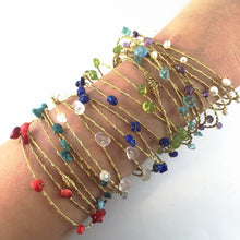 Hand Made Gemstone Bangles