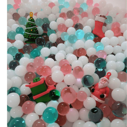 Sensory Beads - Christmas - Bin Fillers