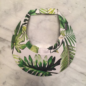 Tropical Leaves Sun Visor