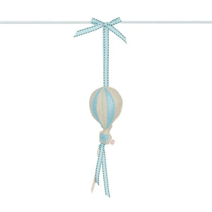 RUBY MELON | Heartfelt Dingle Dangle - Balloon (Cream & Blue)