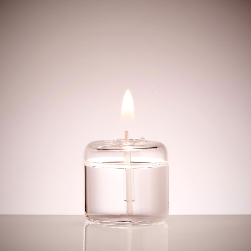 Glass Tea light candle | Small