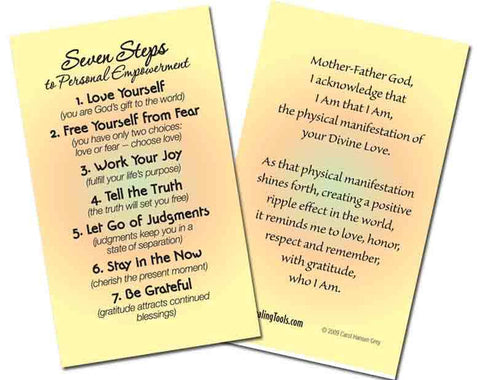 7-Steps to Personal Empowerment Card Special (20)