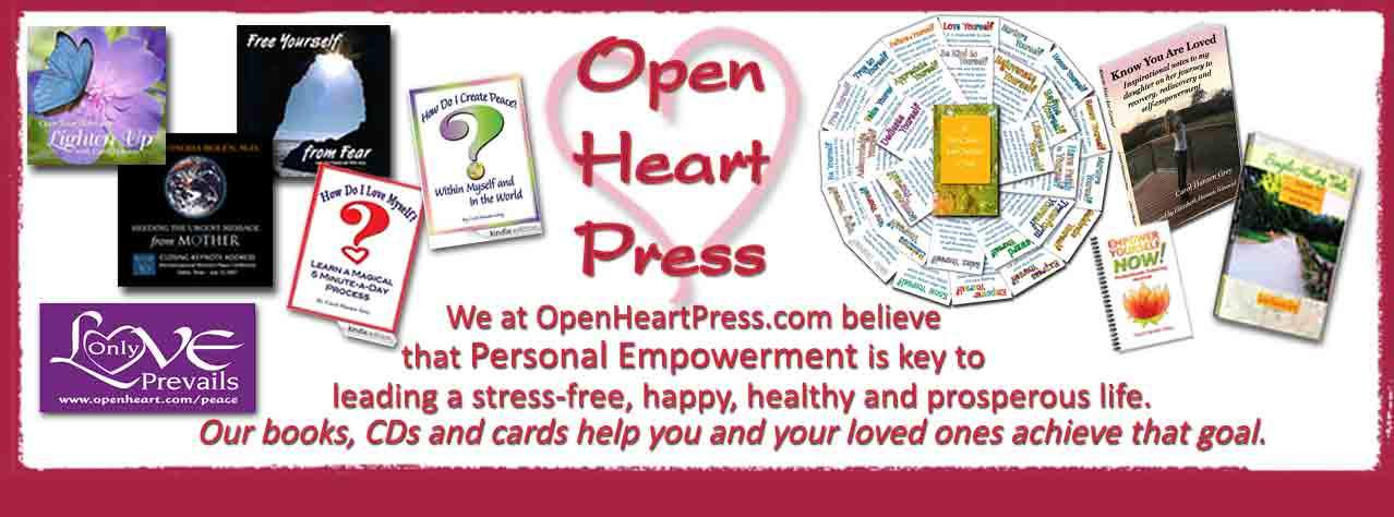 Open Heart Empowerment Products