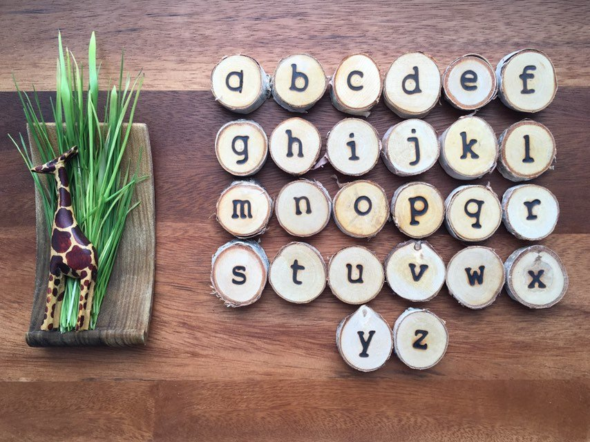 Lowercase Alphabet Magnets