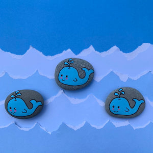 Worry Whale Worry Stone
